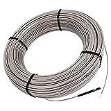 Schluter Systems E Cable de calefacción de piso DHEHK Todos los tamaños 120V y 240V (DHEHK24027 240V (26.7 Ft²) 338W)