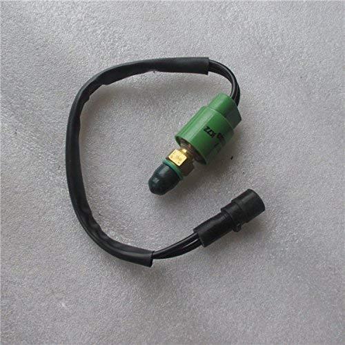 Sensor de interruptor de presión 126-2938 1262938 con enchufe de círculo grande para CAT E312 E320 E330, piezas de excavadora de repuesto AFTERMARKET