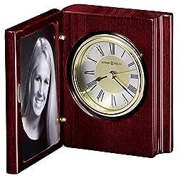 Howard Miller 645-497 Portrait Book Table Clock
