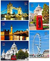 3Dstereo I Love London - 5 3D and Animated Lenticular Postcard Greeting Cards [並行輸入品]