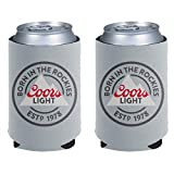 Coors Light'Born In The Rockies' Can Coolie 2 Pack