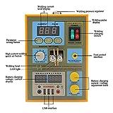 788H Pulse Spot Welding Machine 1.5kw Spot Welder LED Light Lithium Battery Test USB Charging for 18650 Battery Pack Weld (Color : 220v)