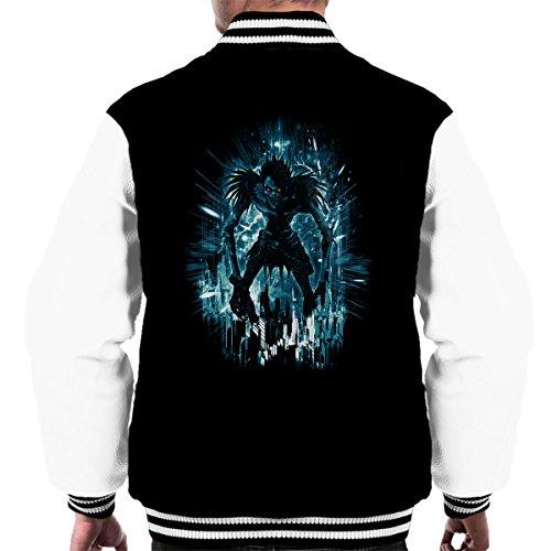 Preisvergleich Produktbild Death Note Ryuk Loves Big Apples Men's Varsity Jacket