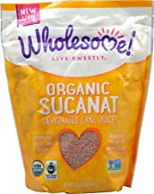 Wholesome Sweeteners Organic Sucanat Dehydrated Cane Juice -- 2 lbs - 2 pc