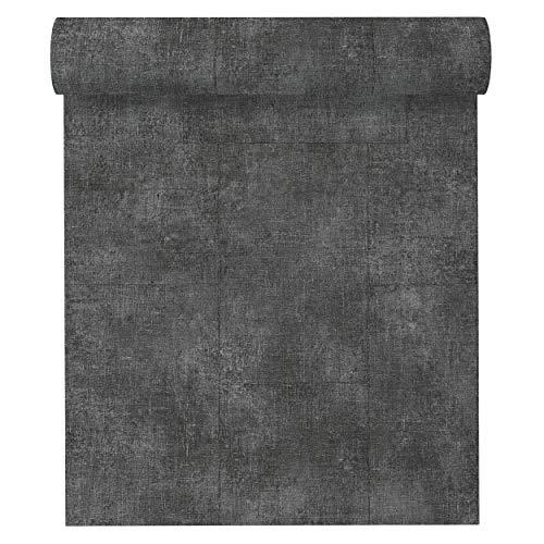 A.S. Création Vliestapete Secret Garden Tapete in Vintage Optik 10,05 m x 0,53 m grau metallic schwarz Made in Germany 336081 33608-1
