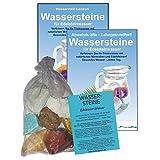 EDELSTEINE für WASSER MAGEN & DARM 4-tlg SET. 300g WASSERSTEINE