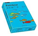 Papyrus 88042739 Drucker-/Kopierpapier farbig, Bastelpapier: Rainbow 80 g/m², A4 500 Blatt, Buntpapier, matt, blau