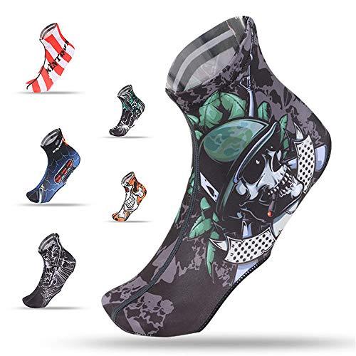 Fundas para zapatos de bicicleta Cranial para montar a caballo, funda para zapatos de bicicleta, multifunción, impermeable y resistente al viento, para hombres y mujeres (color: soldado, tamaño: XL)