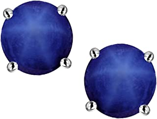 linde star sapphire earrings