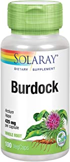 Solaray Burdock Root 425 mg | Healthy Liver, Kidney, Digestion, Circulation, Joint & Skin Support | Antioxidant Activity |...