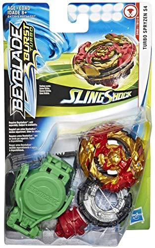 BEYBLADE Slingshock Turbo Spryzen S4