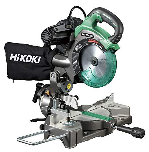 HiKOKI(ハイコーキ) 旧日立工機 卓上丸のこ のこ刃径190mm 両傾斜45゜ レーザーマーカー付 スーパーチップソー、LEDライト付 C7FCH