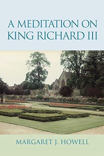A Meditation on King Richard Iii (English Edition)