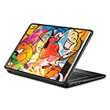 Universal 13' Laptop Skin - Cartoon Smiles | Protective, Durable, and Unique Vinyl Decal wrap Cover | Easy to Apply, Remove, and Change Styles | Made in The USA
