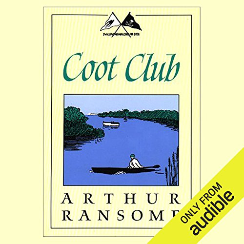 Coot Club audiobook cover art