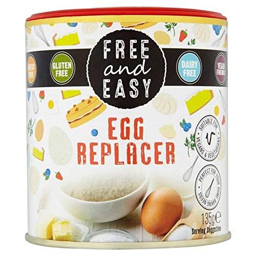 6x Kostenlos Und Einfach Frei Von Vegan Ei-Ersatz 135G