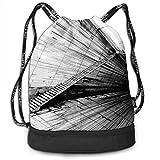 OKIJH Mochila Mochila de Ocio Mochila con cordón Mochila Multifuncional Bolsa de Gimnasio Gymsack Drawstring Bag Sackpack Abstract Art Sport Cinch Pack Simple Bundle Pocke Backpack For Men Women