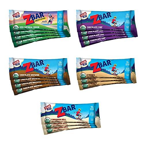 CLIF KID ZBAR - Organic Granola Bars - Variety Pack - Non-GMO -...