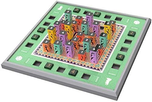 Zyyqt Formación lógica Sentido de los Números casa Número de Juguete Juguete Puzzle Sudoku Juego de Mesa Kistler Puzzle 3D Sudoku for niños Número de Ayuda Juguete Juego de la Familia