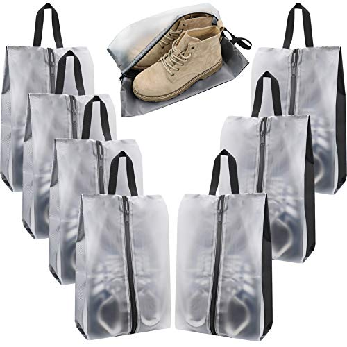 Bolsas de zapatos de viaje, impermeables, portátiles, con asa, para hombres y mujeres