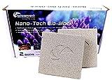 Maxspect Nano Tech Bio Block 2 unidades Bio Bloques para filtro Sump acuario dulce marino