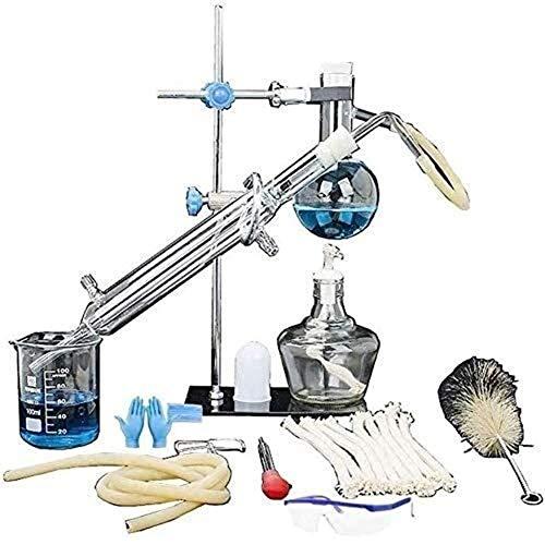 Destilación de aceites Esenciales de Laboratorio,