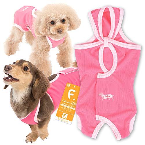 エリザベスカラーに代わる 獣医師と共同開発 犬用 術後服エリザベスウエア 小型犬用 女の子 雌用 カラー 6 ...