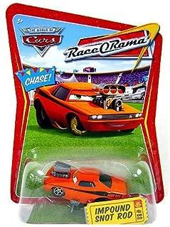 Disney / Pixar CARS Movie 1:55 Die Cast Car Series 4 Race-O-Rama Impound Snot Rod Chase Piece!