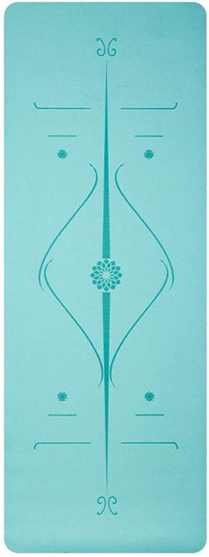 KYCD Yogamatte Super Starke 5mm Tragbare Krperposition Linie Yoga Gummiauflage 183 cm  68 cm