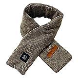 YFY Bufanda climatizada para Hombres para Hombre de calefacción de USB Bufanda Mujeres Hombres Gruesa calefacción Caliente Almohadilla eléctrica calentada Cuello cálido Bufanda