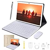 Tablette Tactile Ecran 10 Pouces - WiFi/4G Doule SIM 64Go 3Go RAM 6500mAh Batterie Android 8.1 Quad Core Bluetooth GPS OTG