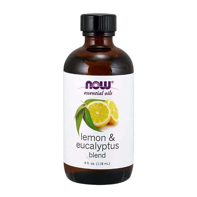 歩き回る知恵連帯Now - Lemon & Eucalyptus Blend With Lemongrass 4 oz (118 ml) [並行輸入品]