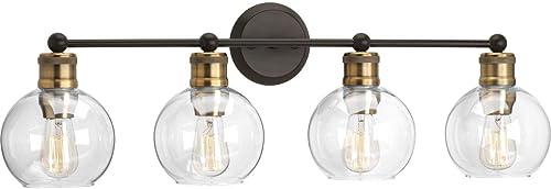 high quality Progress wholesale Lighting P300052-020 Hansford Four-light Bath & Vanity, Antique online sale Bronze outlet sale