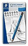 Staedtler Mars Lumograph 100 G12 S. Pack de 12 lápices de dibujo de...