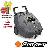 Comet KP PRO Extra 5.12 Idropulitrice Professionale trifase ad Acqua Calda 110°C - 200 Bar - 5,5 HP...