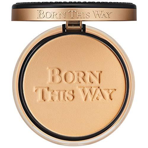 Too Faced Born This Way Poudre de teint multi-usages Beige clair – Cette poudre de fond de teint 3 en 1 peut être portée seule pour une couverture naturelle légère qui dure jusqu'à 12 heures