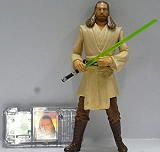 Japan Import Star Wars Comtech figure Qui-Gon Jinn