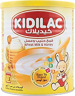 Kidilac Baby Cereal Wheat Milk and Honey 400g