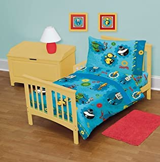 Robots Movie 4 Pcs Toddler Bed Set