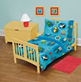 Home Fashion for kids Robots Movie 4 Pcs Toddler Bed Set