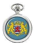 Gran Ducado de Luxemburgo Reloj Bolsillo Hunter Completo