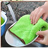 YXDS Trapo de Limpieza Paño de Plato antigrasa eficiente Toalla de Lavado Doble Trapo de Limpieza de Cocina mágica