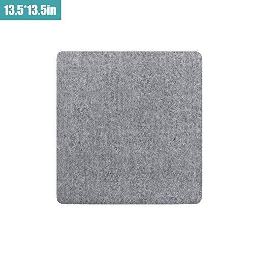 Hangarone Bügeln Filzunterlage, tragbare hochtemperaturbeständige Bügelunterlage New Zealand Wool Pressing Mat Einfache Presse Bügelunterlage für präzises Quilten