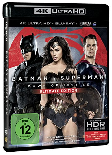 Batman v Superman: Dawn of Justice - Ultimate Edition 4K, 2 UHD-Blu-rays