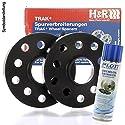 H&R DR Spurplatten Spurverbreiterung Distanzscheibe 5x112 30mm // 2x15mm + Bremensreiniger