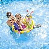 Gcxzb Schwimmreifen Luftbetten Sommer Paddling Pool Tier Aufblasbare Schwimmring Kinder Ente, Kaninchen, Schildkröte PVC Outdoor (Color : A)
