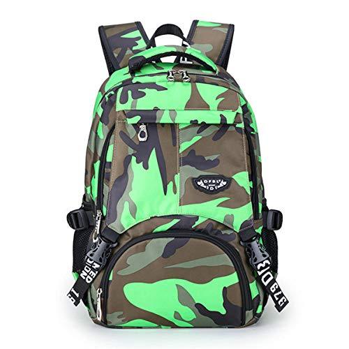 Yidajiu Rugzak voor dames camouflage dot printing bookbag vrouwen Oxford waterdichte kinderrugzak grote capaciteit schooltas voor meisjes