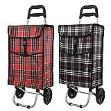 40L Caddie caddie caddie caddie sac à provisions panier sac pliable avec panier