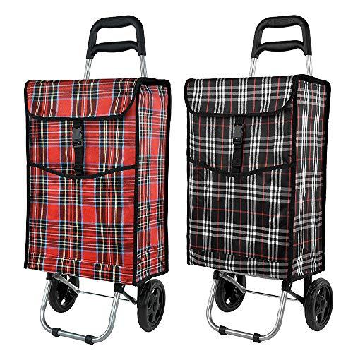 Einkaufswagen | Einkaufstrolley | Trolley | Einkaufsroller | Sackakrre | Klappbar mit Einkaufstasche