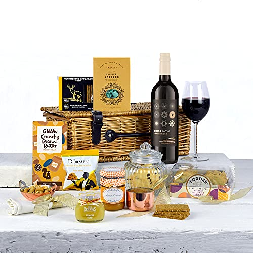 Any Occasion Gift Hamper with Red Wine - For Him or Her, Birthdays, Fathers Day, Thank You, Christmas or any special occasion!